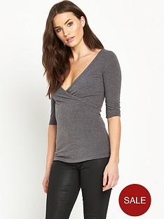 v-by-very-wrap-front-34-sleeve-ribbed-topnbsp