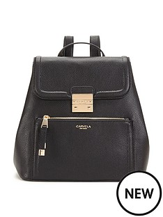 carvela-backpack-black