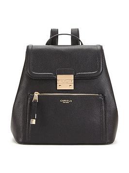 carvela-backpack-black