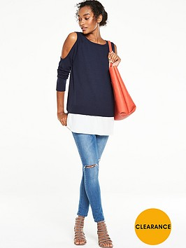 v-by-very-cold-shoulder-2-in-1-jumpernbsp