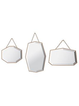 ideal-home-set-of-3-vintage-mirrors