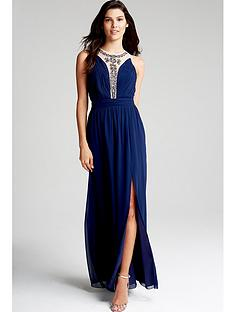 little-mistress-navy-embellished-mesh-maxi-dress