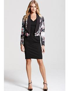 paper-dolls-black-floral-print-blazer