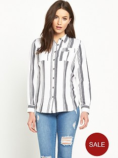 v-by-very-mono-stripe-shirtnbsp