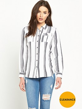 v-by-very-mono-stripe-shirtnbsp