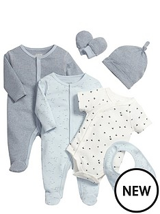 mamas-papas-blue-6pce-set