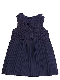 mamas-papas-baby-girls-lace-pleat-dress