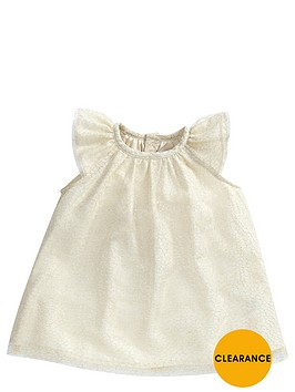 mamas-papas-baby-girls-occasion-metallic-dress