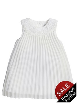 mamas-papas-baby-girls-floral-lace-and-pleated-dress