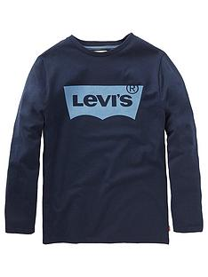 levis-boys-long-sleeve-logo-top