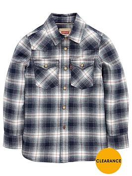 levis-boys-ls-check-shirt