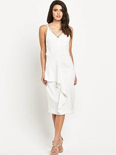 lavish-alice-white-deep-plunge-strap-amp-frill-detail-midi-dress