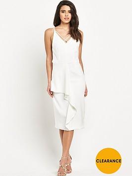 lavish-alice-white-deep-plunge-strap-amp-frill-detail-midi-dress