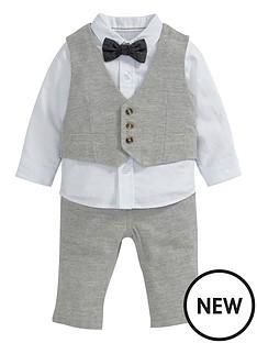 mamas-papas-4pce-tweed-set