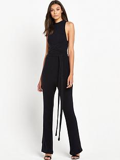 lavish-alice-rib-knit-open-back-wrap-tie-flared-leg-jumpsuit
