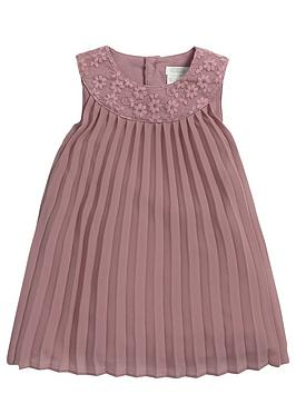mamas-papas-baby-girls-floral-lace-and-pleat-dress