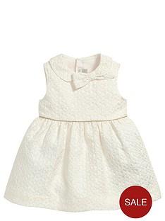 mamas-papas-baby-girls-jacquard-bow-dress
