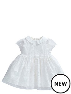 mamas-papas-baby-girls-flocked-spot-dress