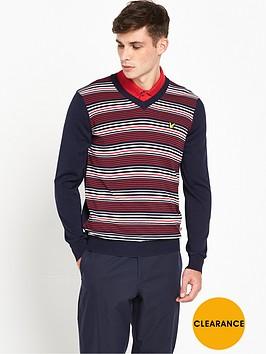 lyle-scott-lyle-amp-scott-golf-gilean-v-neck-stripe-pullover