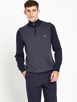 Lyle & Scott Lyle &Amp Scott Golf Kilbreck True Knit Woven Hybrid
