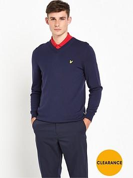 lyle-scott-golf-nevis-v-neck-merino-pullover