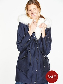 v-by-very-short-sateen-parka-with-shawl-collarnbsp