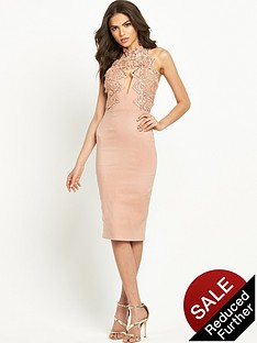 rare-scallop-lace-bodycon-dress-blush-pink