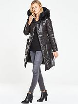 Long Premium Cinched Padded Coat