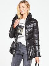 Short PeplumShiny Jacket