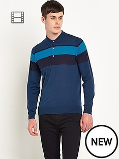 john-smedley-mens-merino-wool-panel-detail-polo-top