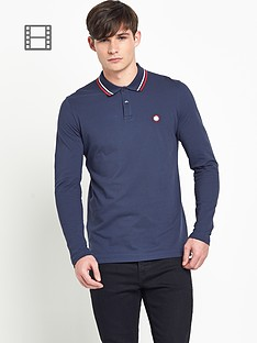 pretty-green-mens-twin-tipped-long-sleeve-polo