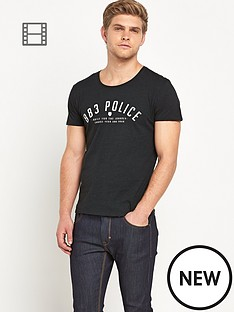 883-police-snow-mens-logo-t-shirt