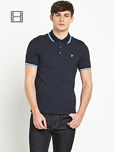 lyle-scott-tipped-polo-shirt