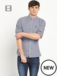 lyle-scott-gingham-shirt