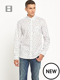 french-connection-mens-floral-long-sleeve-shirt