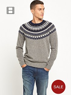 french-connection-mens-winter-fairisle-jumper