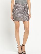 Superdry Narni Sequin Mini Skirt