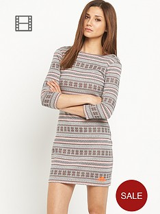 superdry-jacquard-knit-bodycon-dress