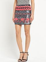Aspen Sequin Mini Skirt