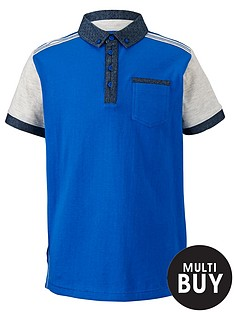 demo-boys-contrast-colour-block-polo-shirt