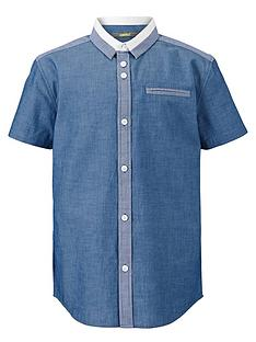 demo-boys-short-sleeve-collar-panel-shirt