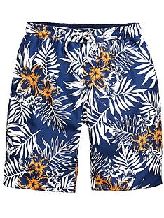 demo-boys-floral-print-swim-shorts