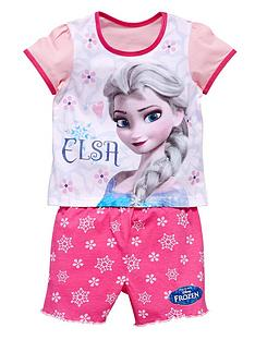 disney-frozen-girls-elsa-short-pyjamas