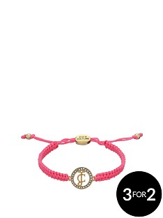 juicy-couture-crystal-set-macrame-ultra-pink-friendship-bracelet