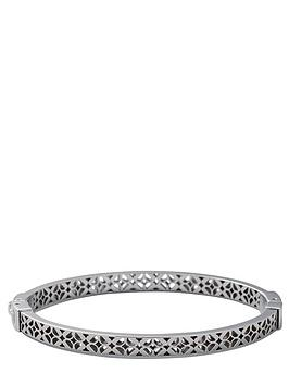 fossil-signature-print-silver-bangle