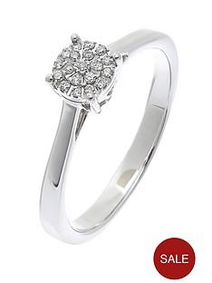 love-diamond-9-carat-white-gold-7-point-cluster-ring