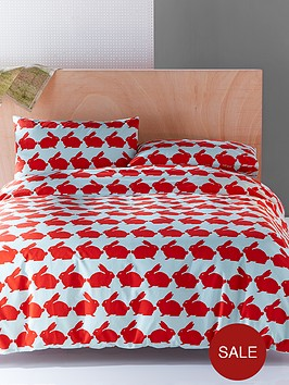 anorak-kissing-rabbits-duvet-cover-set