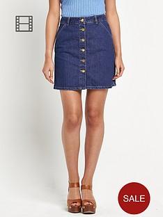 river-island-a-line-button-through-denim-skirt