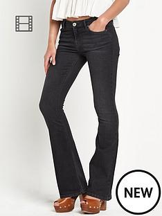 river-island-brooke-black-flare-jeans