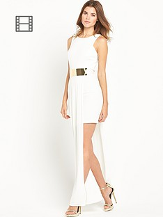 river-island-gold-belt-slinky-maxi-dress